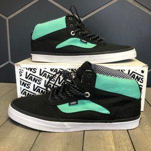 New W/ Box Vans OTW Bedford Black Mint Mid Sneaker